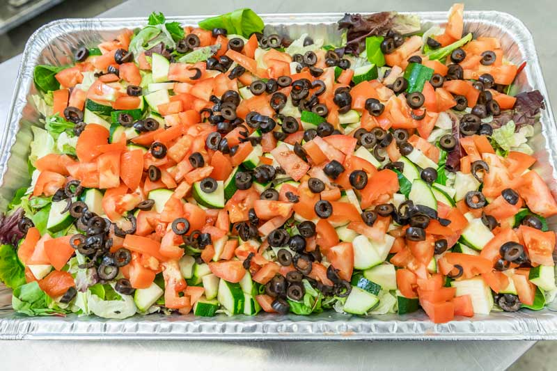 Fresh Veggies by Maximilian's Catering